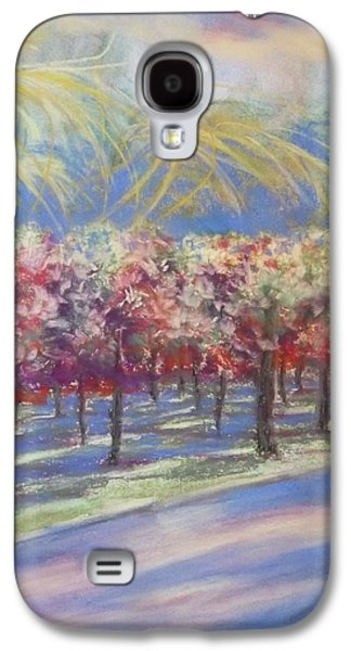 Storm Prints Mixed Media Galaxy S4 Cases - Storm Coming Galaxy S4 Case by Becky Chappell