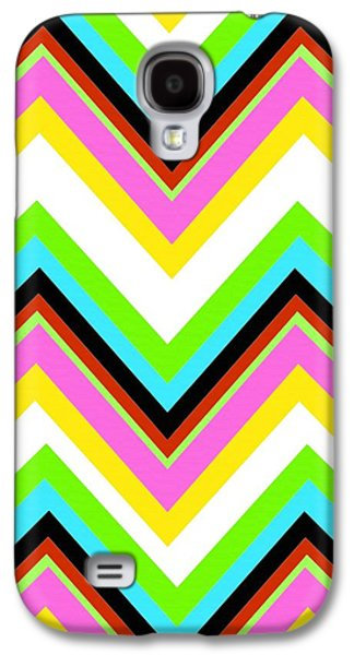 Louisa Galaxy S4 Cases - Stripe Galaxy S4 Case by Louisa Knight
