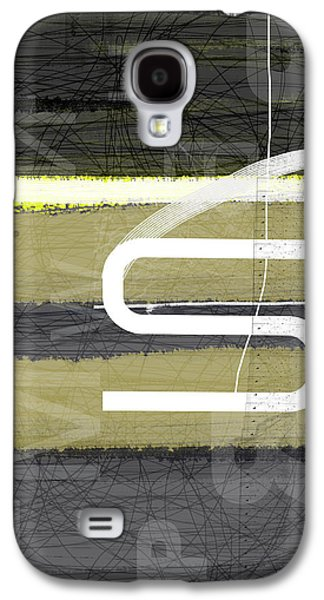 Modern Abstract Galaxy S4 Cases - Stripes Galaxy S4 Case by Naxart Studio