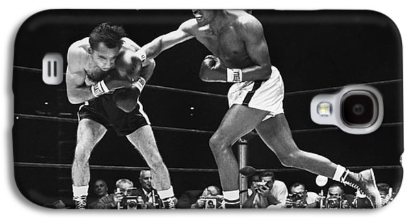 Recently Sold -  - Boxer Galaxy S4 Cases - Sugar Ray Robinson Galaxy S4 Case by Granger