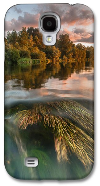 Reflections Galaxy S4 Cases - Summer afternoon Galaxy S4 Case by Davorin Mance