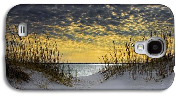 Coast Galaxy S4 Cases - Sunlit Passage Galaxy S4 Case by Janet Fikar