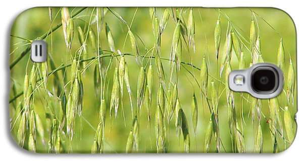 Porridge Galaxy S4 Cases - Sunny day at the oat field Galaxy S4 Case by Christine Till