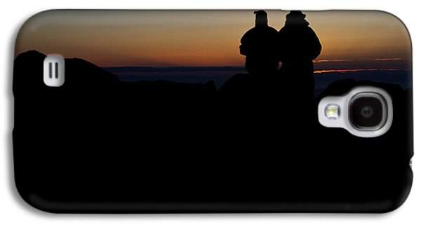 Maine Mountains Galaxy S4 Cases - Sunrise WIth Me Galaxy S4 Case by Rick Berk