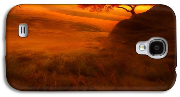 Sunset Duet Galaxy S4 Case by Lourry Legarde