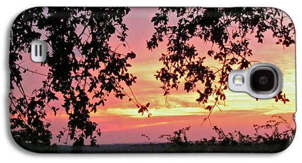 Randi Shenkman Galaxy S4 Cases - Sunset over Canyon Lake Galaxy S4 Case by Randi Shenkman