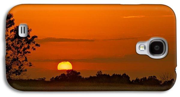Refuge Galaxy S4 Cases - Sunset Over Horicon Marsh Galaxy S4 Case by Steve Gadomski