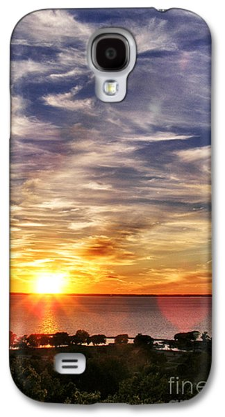 Appleton Photographs Galaxy S4 Cases - Sunset Smokestack Galaxy S4 Case by Shutter Happens Photography