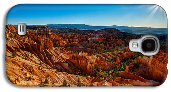 Pine Tree Galaxy S4 Cases - Sunset Sunrise Galaxy S4 Case by Chad Dutson