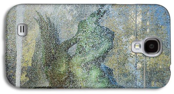 Phillies Art Galaxy S4 Cases - Swann Fountain Galaxy S4 Case by John Greim