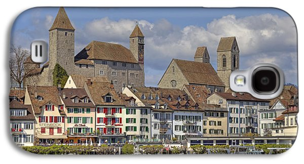 Castle Photographs Galaxy S4 Cases - Switzerland Rapperswil Galaxy S4 Case by Joana Kruse