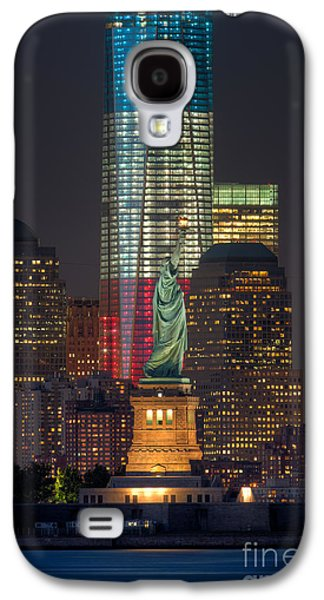 Wtc 11 Galaxy S4 Cases - Symbols of Freedom II Galaxy S4 Case by Clarence Holmes