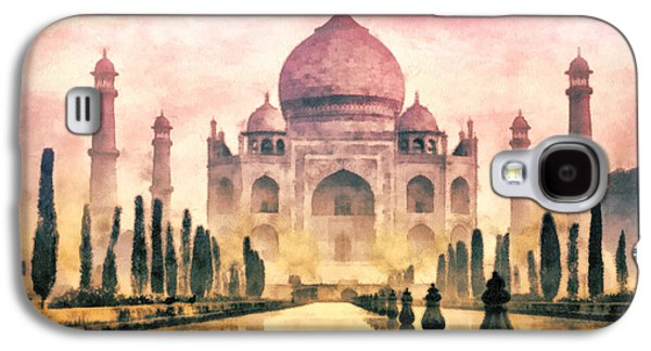 Wife Galaxy S4 Cases - Taj Mahal Galaxy S4 Case by Mo T