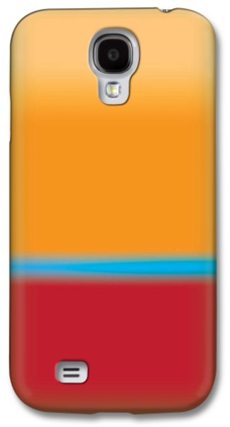 Layer Galaxy S4 Cases - Tall Abstract Color Galaxy S4 Case by Gary Grayson