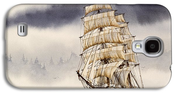 Tall Ship Galaxy S4 Cases - Tall Ship Adventure Galaxy S4 Case by James Williamson