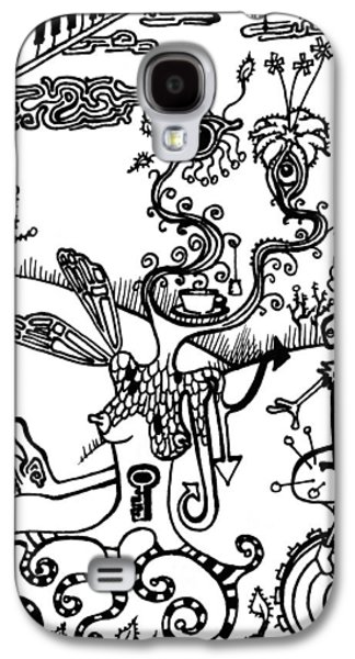 Balloon Flower Galaxy S4 Cases - Tea in the Sahara  Galaxy S4 Case by Kelly Jade King