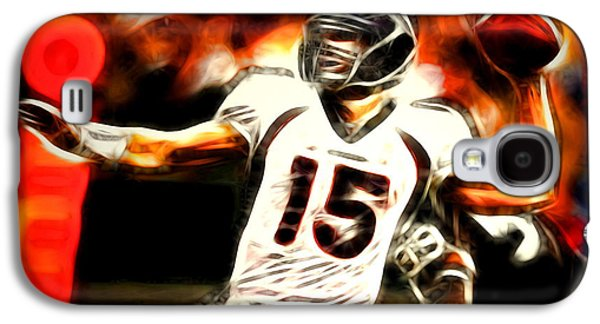 Tim Tebow Galaxy S4 Cases - Tebow Galaxy S4 Case by Paul Van Scott