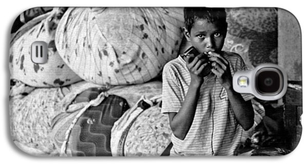 Working Conditions Photographs Galaxy S4 Cases - Technology in Sweatshop Galaxy S4 Case by Kantilal Patel
