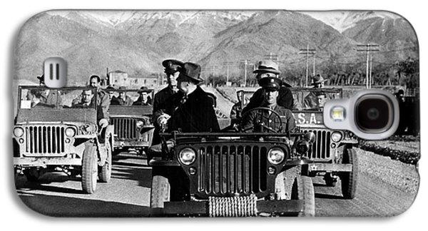 Democrats Galaxy S4 Cases - Tehran Conference, 1943 Galaxy S4 Case by Granger