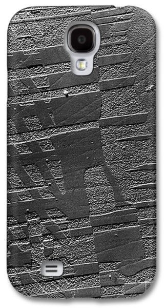 Tem Galaxy S4 Cases - Tem Of A Crystal Of Barium Titanate Galaxy S4 Case by Omikron