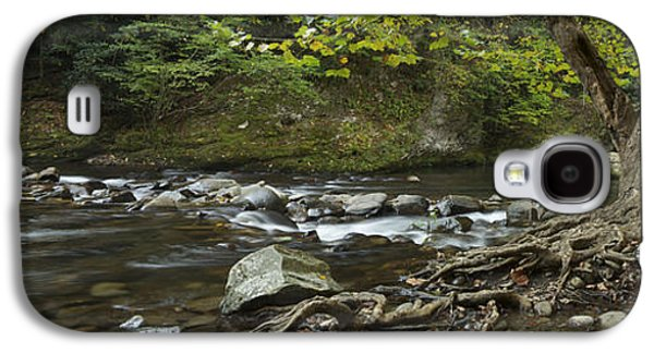 Tennessee Stream Panorama 6045 6 Galaxy S4 Case by Michael Peychich