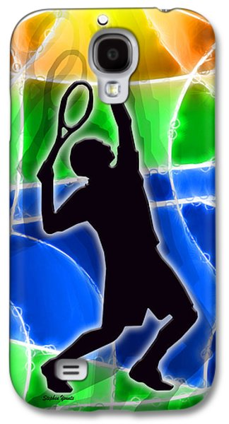 Volley Galaxy S4 Cases - Tennis Galaxy S4 Case by Stephen Younts