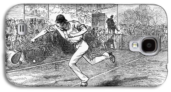 Wimbledon Galaxy S4 Cases - Tennis: Wimbledon, 1880 Galaxy S4 Case by Granger