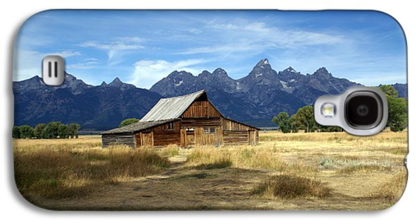 Marty Koch Galaxy S4 Cases - Teton Barn 3 Galaxy S4 Case by Marty Koch