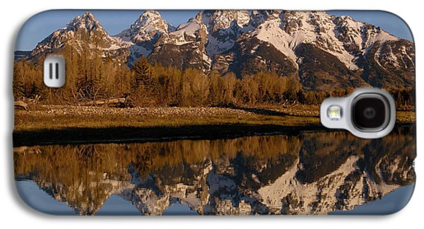 Mountain Photographs Galaxy S4 Cases - Teton Range, Grand Teton National Park Galaxy S4 Case by Pete Oxford