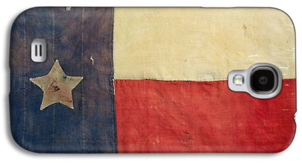 American Independance Galaxy S4 Cases - Texas Flag, 1842 Galaxy S4 Case by Granger