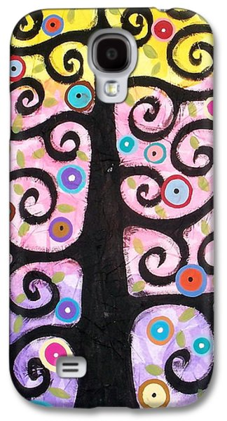 """textured Art"" Galaxy S4 Cases - Textured Tree Galaxy S4 Case by Karla Gerard"