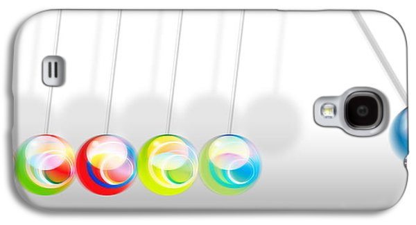 Abstract Forms Galaxy S4 Cases - Tha game Galaxy S4 Case by Nomi Elboim