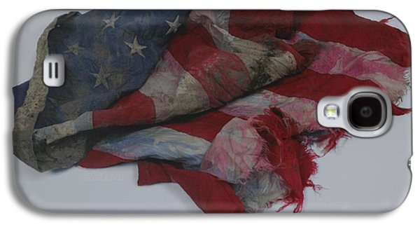 Wtc 11 Galaxy S4 Cases - The 9 11 W T C Fallen Heros American Flag Galaxy S4 Case by Rob Hans