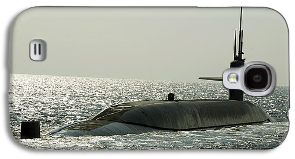 Emergence Galaxy S4 Cases - The Ballistic Missile Submarine Uss Galaxy S4 Case by Stocktrek Images