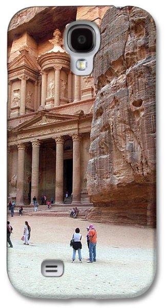 Petra - Jordan Galaxy S4 Cases - The Bank Galaxy S4 Case by Munir Alawi