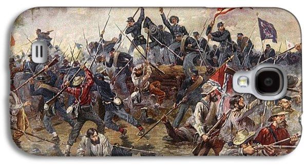 The Battle Of Spotsylvania Galaxy S4 Case by Henry Alexander Ogden