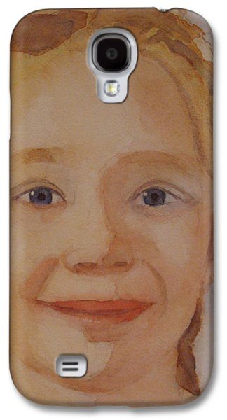 Braids Galaxy S4 Cases - The Blue-Eyed Duckling Galaxy S4 Case by Jenny Armitage