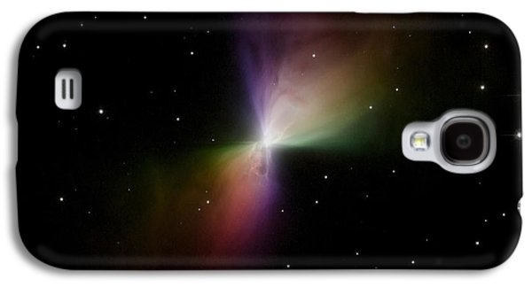 Bipolar Galaxy S4 Cases - The Boomerang Nebula Galaxy S4 Case by Stocktrek Images