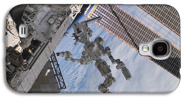 Best Sellers -  - Component Photographs Galaxy S4 Cases - The Canadian-built Dextre Robotic Galaxy S4 Case by Stocktrek Images