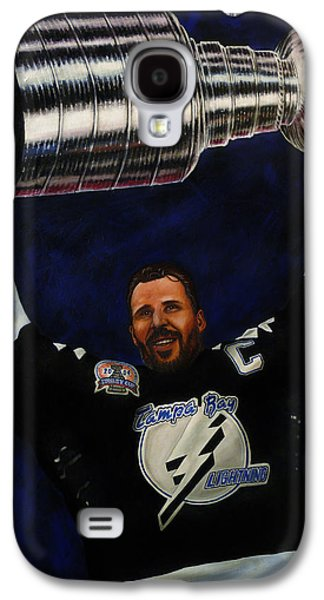 Stanley Cup Paintings Galaxy S4 Cases - The Captain Galaxy S4 Case by Marlon Huynh