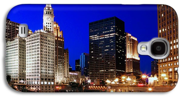 Chicago River Galaxy S4 Cases - The Chicago River Galaxy S4 Case by Rick Berk