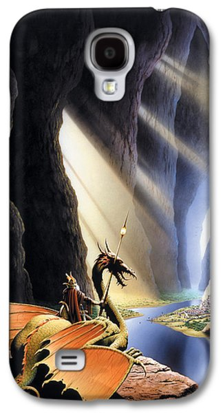 Dragon Photographs Galaxy S4 Cases - The Citadel Galaxy S4 Case by The Dragon Chronicles - Steve Re