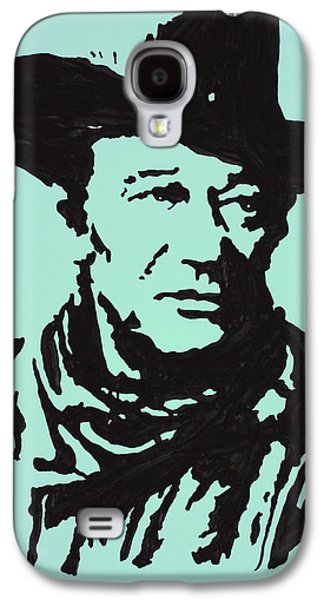 John Wayne Drawings Galaxy S4 Cases - The Duke In Color Galaxy S4 Case by Robert Margetts