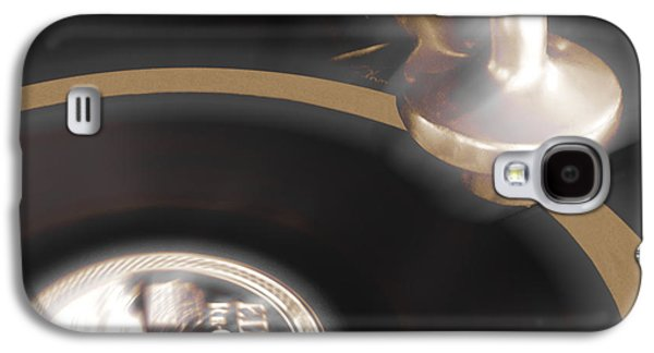 Edison Galaxy S4 Cases - The Edison Record Player Galaxy S4 Case by Mike McGlothlen