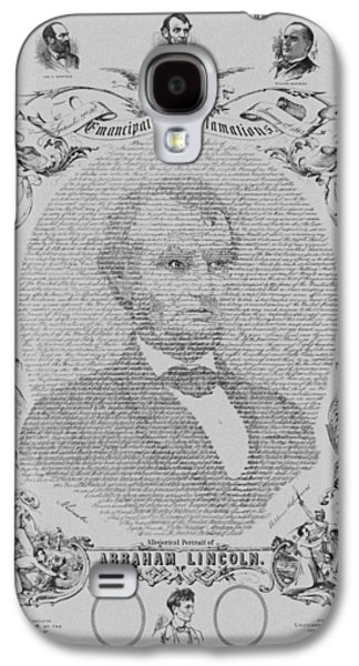 Proclamation Galaxy S4 Cases - The Emancipation Proclamation Galaxy S4 Case by War Is Hell Store