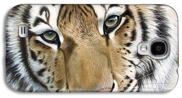 Airbrush Galaxy S4 Cases - The Embrace Galaxy S4 Case by Sandi Baker