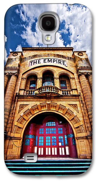 Unused Galaxy S4 Cases - The Empire Theatre Galaxy S4 Case by Meirion Matthias