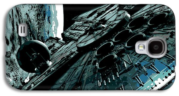 Fictional Galaxy S4 Cases - the Falcon Galaxy S4 Case by George Pedro
