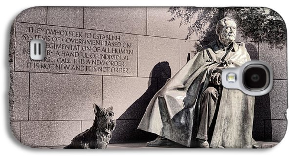 Franklin Galaxy S4 Cases - The FDR Memorial Galaxy S4 Case by JC Findley