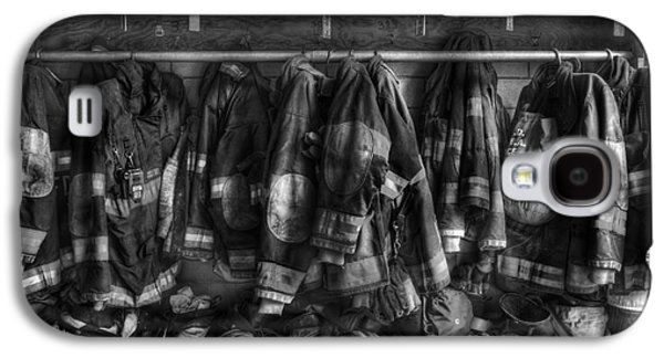 Equipment Galaxy S4 Cases - The Gear of Heroes - Firemen - Fire Station Galaxy S4 Case by Lee Dos Santos